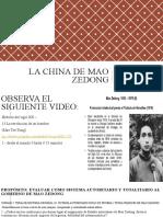1.LA REVOLUCIÒN DE MAO ZEDONG