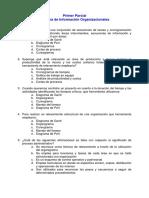 SISTEMAS DE INFORMACION ORGANIZACIONALES - PRIMER PARCIAL
