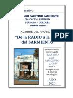 Proyecto Radio y Tele en el Sarmiento