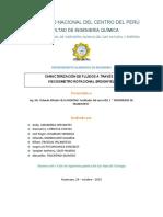 INFORME DE LABORATORIO N° 2 DE FENOMENOS DE TRANSPORTE