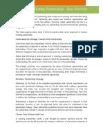15 - Creating Winning Partnerships - Best Practices