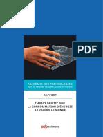 Impact des TIC sur la consommation d'énergie à travers le monde by Académie des technologies (z-lib.org).pdf