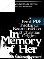 Elisabeth Fiorenza - In Memory of Her_ a Feminist Theological Reconstruction of Christian Origins-The Crossroad Publishing Company (1994)