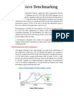 White Paper 1 - Sales Force Benchmarking