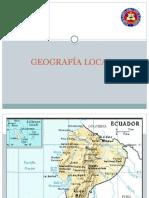GEOGRAFÍA LOCAL 1