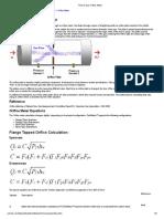 Theory Gas Orifice Meter