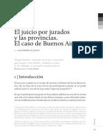 Alliaud, A. El juicio por jurados. El caso de Buenos Aires