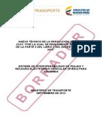 Borrador Anexo Tecnico Resol Peajes 12sep2015