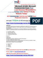 2019 New Braindump2go AZ-900 Dumps with PDF and VCE Free Share(Q1-Q11)