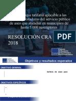 EXPOSICION RES CRA 853 DE 2018