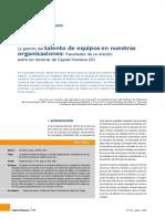 ARTICULO 1 La gestión del talento de equipos en nuestras organizaciones Resultados de un estudio entre los lectores de Capital Humano