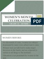 WOMEN'S MONTH CELEBRATION.pptx