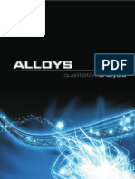 Analysis Of Alloys