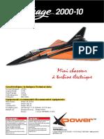 Mirage 2000 RC model