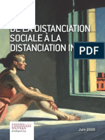 De la distanciation sociale à la distanciation intime