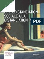 De la distanciation sociale à la distanciation intime