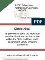 Williamson County Schools instruction plan