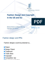 wipo - Fashion design and copyright in the eu and us