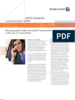 Alcatel-Lucent PCX - OXE - Brochure