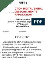 UNIT 5(DSP Processor)