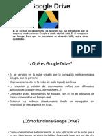 Google Drive - Prof Felix
