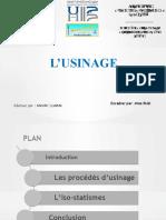 L'USINAGE.pptx