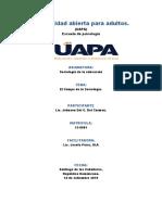 Tarea 1, Sociológica de la Educación (UAPA)