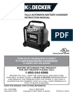 B&D 25A Battery Charger