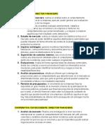 INFORMACIÓN DIRECTOR FINANCIERO