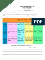 2015 - 2016 RÚBRICA PARA  EVALUAR COMPETENCIAS LECTORAS