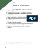 FORMULACION DE LAS PP