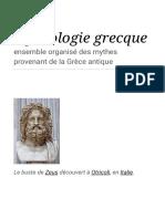 Mythologie grecque — Wikipédia