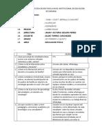 INFORME DE ACTIVIDADES EJECUTADAS DEL PLAN DE TRABAJO . APRENDO EN CASA..docx