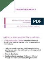 distribution decesion