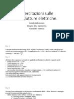 05. Esercitazioni Sulle Condutture Elettriche