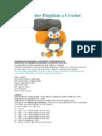 Mordedor Pingüino a Crochet_esp