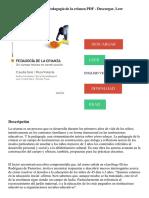 Pedagogía de la crianza_ Pedagogía de la crianza PDF - Descargar, Leer