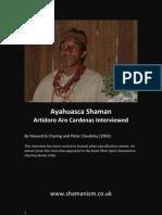 Interview With Ayahuasca Shaman Artidoro