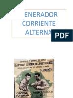 Presentacion TEMA 9. GENERADOR CORRIENTE ALTERNA