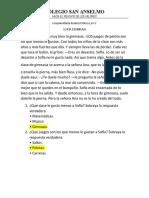 EVALUACIÓN DE PLAN LECTOR 6 A, B Y C 2
