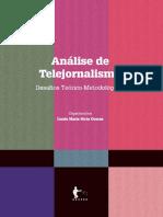 Analise de Telejornalismo desafios teorico-metodologicos