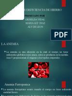 ANEMIA POR DEFICIENCIA DE HIERRO(1)