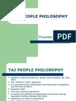 Taj People Philosophy