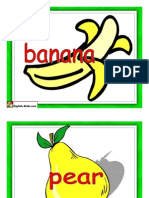 Fruits Cards