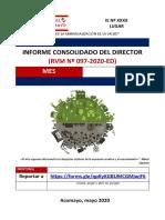 Informe Mensual Consolidadodel Director_RVM Nº 097 MAYO_DICIEMBRE