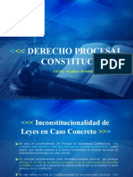 Inconstitucionalidad Caso Concreto