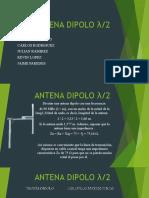 ANTENA DIPOLO λ