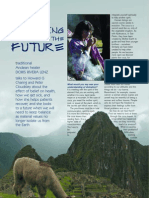Interview with traditional Andean curandera
