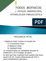 CLASE 5(1) - METODOS BIOFISICOS MOV.FETALES, AMNIOSCOPIA, EVA