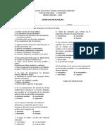 Evaluación de Ciencias Naturales 3°- 1°P - copia